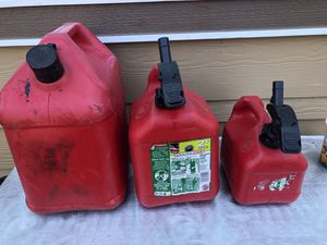 Gas Tanks / gasoline for Sale in Tacoma, WA