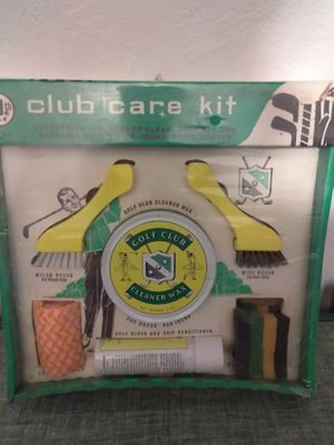 Vintage Mid Century NOS Golfer Golf Club Care Clean Kit Gift Set for Sale in Pittsburgh, PA