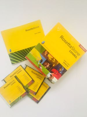 Spanish Rosetta Stone for Sale in Hinsdale, IL