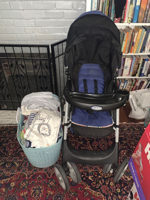 12 to 18 month boy lot and graco stroller for Sale in Indian Rocks Beach, FL