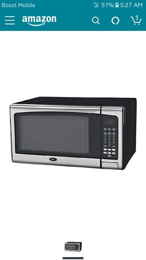 1000 watts oyster microwave for Sale in Waynesville, MO