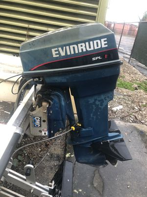 Evinrude 48 spl outboard for Sale in Delray Beach, FL
