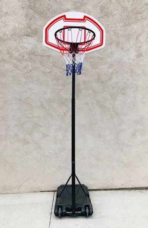 "New $50 Kids Junior Sports Basketball Hoop 28x19"" Backboard, Adjustable Rim Height 5' to 7' for Sale in Whittier, CA"