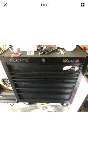 Snap on tool box and full of new tools for Sale in Hayward, CA