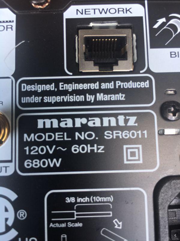 Marantz Model SR6011...works