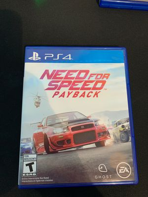 Need For Speed Pay Back PS4 for Sale in Troy, MI