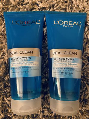 L'Oréal ideal clean gel cleanser for Sale in National City, CA