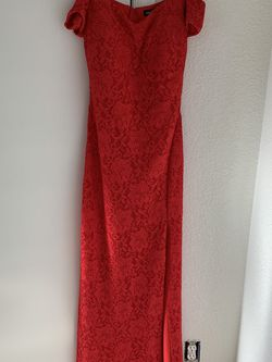 Strapless Red Evening Gown for Sale in Denver,  CO