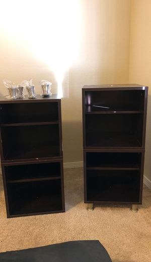 Luxury hardwood bookshelves for Sale in Redmond, WA