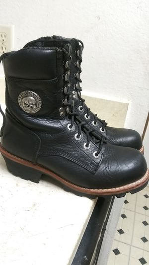 SIZE 11 HARLEY DAVIDSON BOOTS IN EXCELLENT SHAPE. for Sale in Dallas, TX