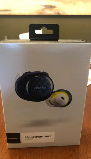 Bose SoundSport Free - True wireless earbuds (New) for Sale in San Diego, CA