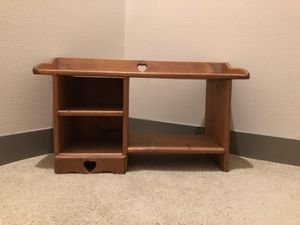 Hand Made Small Wooden Shelf for Sale in Garland, TX