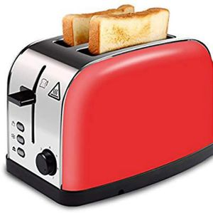 Red Brushed Stainless Steel Toaster for Sale in Bristol, TN