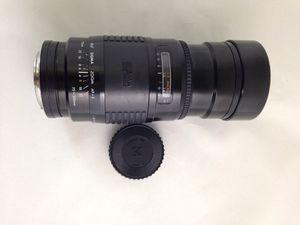 SIGMA Auto focus 1.28~3.5 f=75~200 mm for Sale in Ashburn, VA