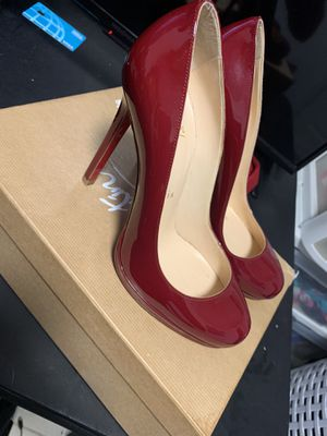 christian louboutin neofilo 120 patent rouge (red bottoms) heels for Sale in Fort Washington, MD