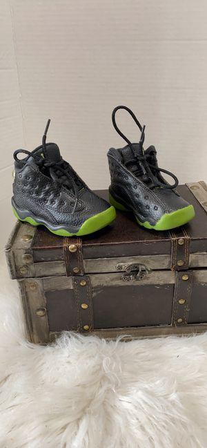 Air Jordan 13 XIII Retro BT 'Altitude' 2017 Black/Green Size 5C for Sale in Dearborn, MI