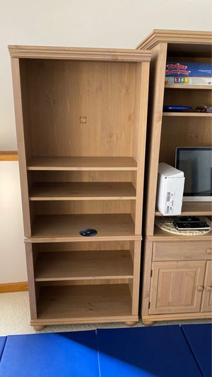 Entertainment/Bookshelves for Sale in Pingree Grove, IL