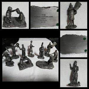 Collection of: Franklin Mint Pewter Statues:Please Read for Sale in Eugene, OR