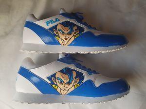 Dragon ball Super Gogeta custom Fila shoes for Sale in Oklahoma City, OK