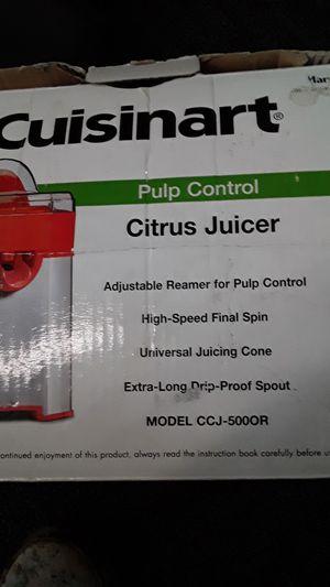 Cuisinart pulp control citrus juicer for Sale in Inglewood, CA