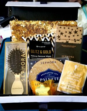 Sephora 7pc Glitz & Gold Gift Set for Sale in Los Angeles, CA