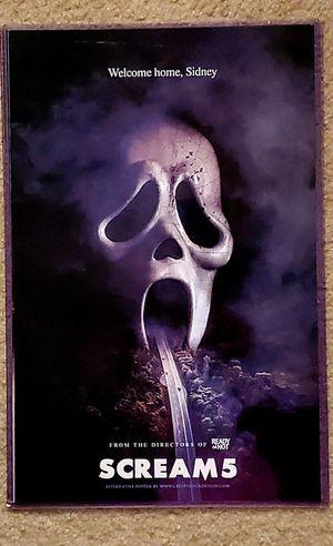 Scream 5 Horror Movie 11x17 Poster for Sale in Bunker Hill, WV