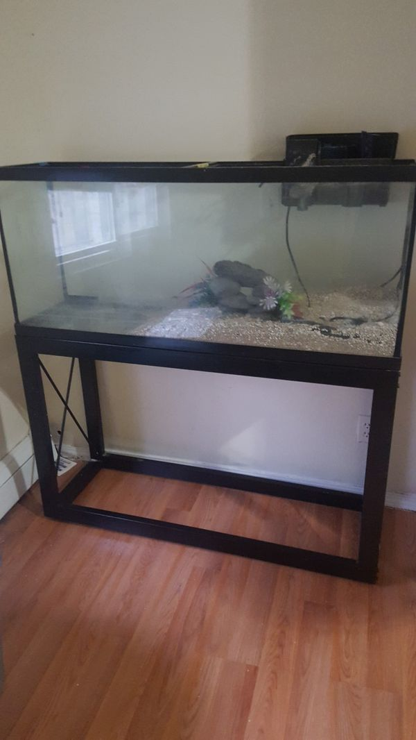 55 gallon tank with some accessories fish tank