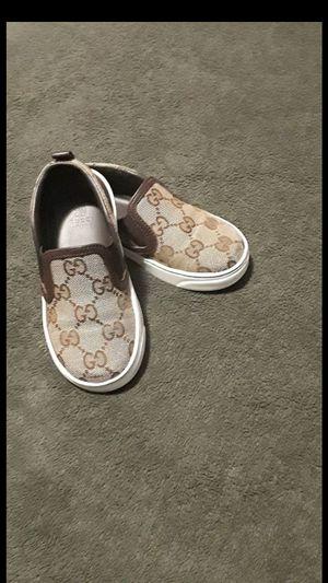 100% Auth Gucci Kids GG Print Slip-On Sneaker for Sale in Pasadena, CA