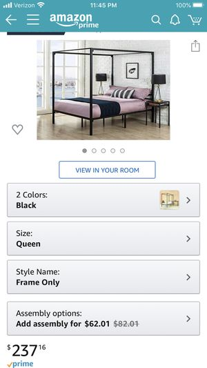 Bed Frame for Sale in Yonkers, NY