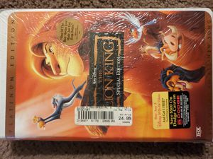 THE Lion King vhs for Sale in Zanesville, OH