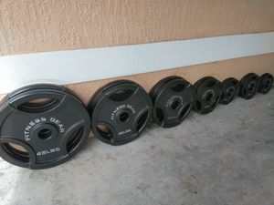 Olympic Weight Set | 255 Pounds for Sale in Miami, FL