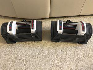 2 sets of (6-24lbs) Speedlock Adjustable Dumbbell for Sale in Lynnwood, WA