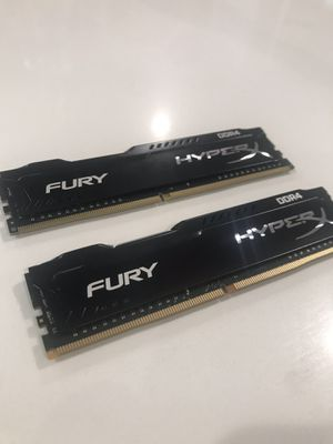 HyperX Fury DDR4 16gig 2x8 sticks 2133 ram for Sale in Buena Park, CA