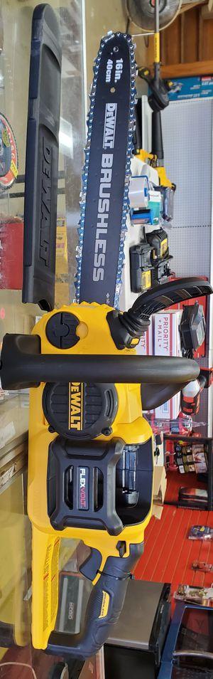 Dewalt 60v Flexvolt Chainsaw - TOOL ONLY for Sale in Chicago, IL