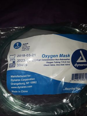 2-OXYGEN FULL FACE MASKS WITH TUBING NEW IN PACKAGE for Sale in New York, NY