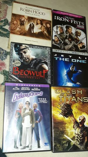 6 DVD Movies for Sale in Everett, WA