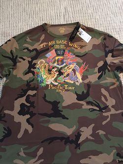 Ralph Lauren 🇺🇸 Polo 🐎 Camo Shirt SZ XL for Sale in Dallas,  TX