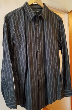 Structure Sears Grey White Dress Shirt Large for Sale in Riverside, CA