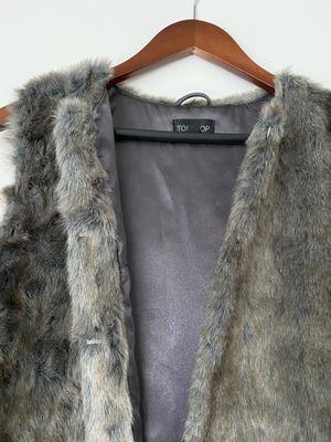 Topshop Faux Fur Vest for Sale in Oakland, CA