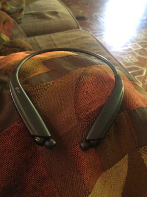 Lg tone ultra a HBS-835 HBS830 wireless Bluetooth stereo Headset black for Sale in Jonesboro, GA