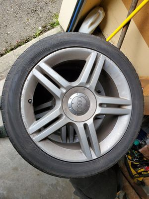 "Audi a4 wheels and tires 17"" for Sale in Woodinville, WA"
