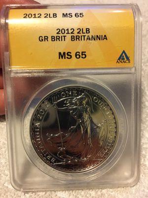 2012 Britannia Silver Coin MS65 for Sale in Downey, CA