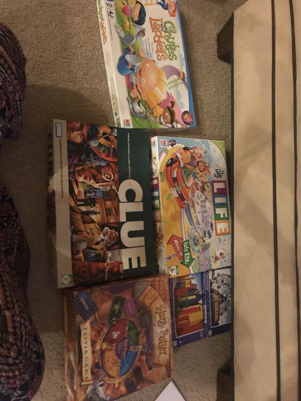 Bin of Board Games