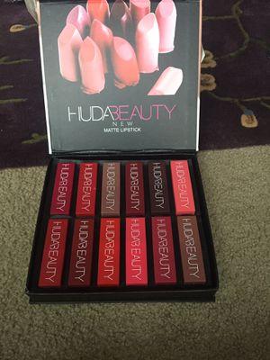 Huda beauty matte lipsticks only in $10,buy 2 get 1 free for Sale in Lilburn, GA