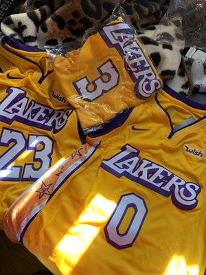 Lakers jerseys for Sale in La Mesa, CA