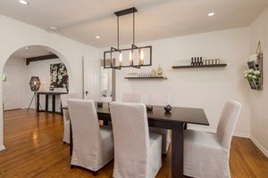 6 linen dining chairs for Sale in Rosemead, CA