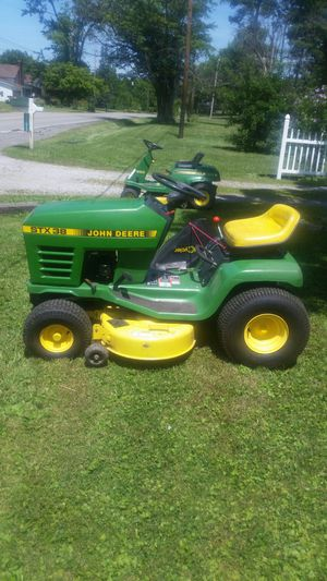 John Deere stx38 yellow deck for Sale in Grafton, OH