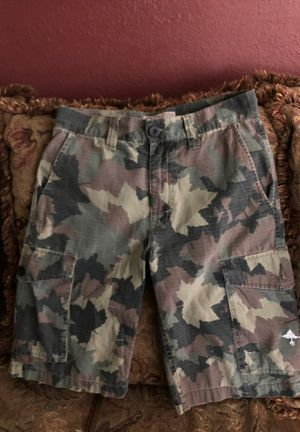 Lng. Classic Camouflage Cargo Shorts for Sale in Montclair, CA