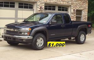 $1.OOO I'm selling urgently 2004 Chevrolet Colorado Truck V6. for Sale in Washington, DC