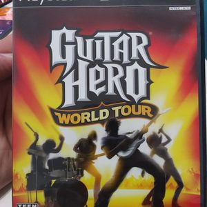Guitar Hero World Tour PS2 PlayStation 2 Activision for Sale in Fort Lauderdale, FL